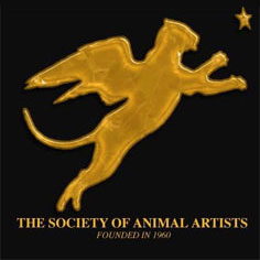 Logo - Signature Member of The Society of Animal Artists