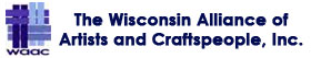Logo of The Wisconsin Alliance of Artists and Craftspeople, Inc.
