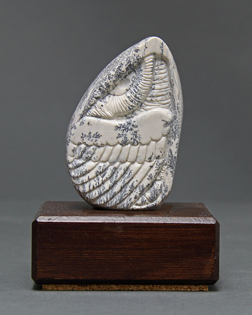 A larger photo of Soapstone Owl #10 by Clarence P. Cameron of Madison Wisconsin
