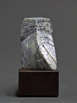 A photo of Soapstone Owl #6F by Clarence P. Cameron of Madison, Wisconsin