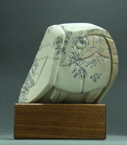 A photo of Soapstone Owl #1F
