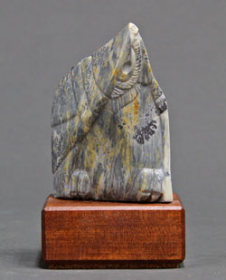 A photo of Soapstone Owl #10F by Clarence Cameron