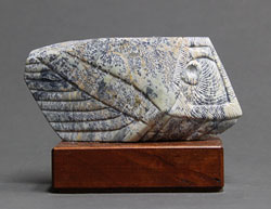 Soapstone Owl #12 by Clarence P. Cameron