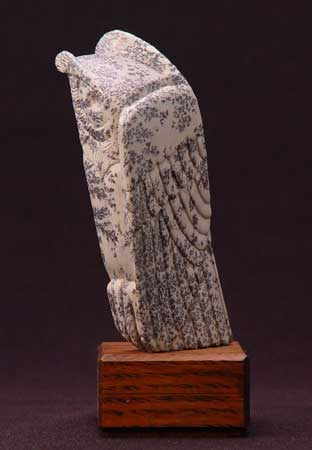 A larger photo of Soapstone Owl #23