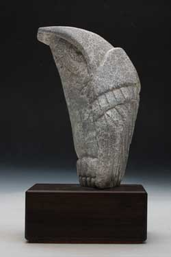 A photo of Soapstone Owl #25L