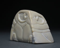 A photo of Soapstone Owl #24